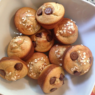 Oatmeal Banana Breakfast Muffins