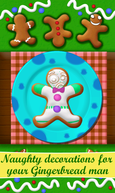 Gingerbread Maker - screenshot