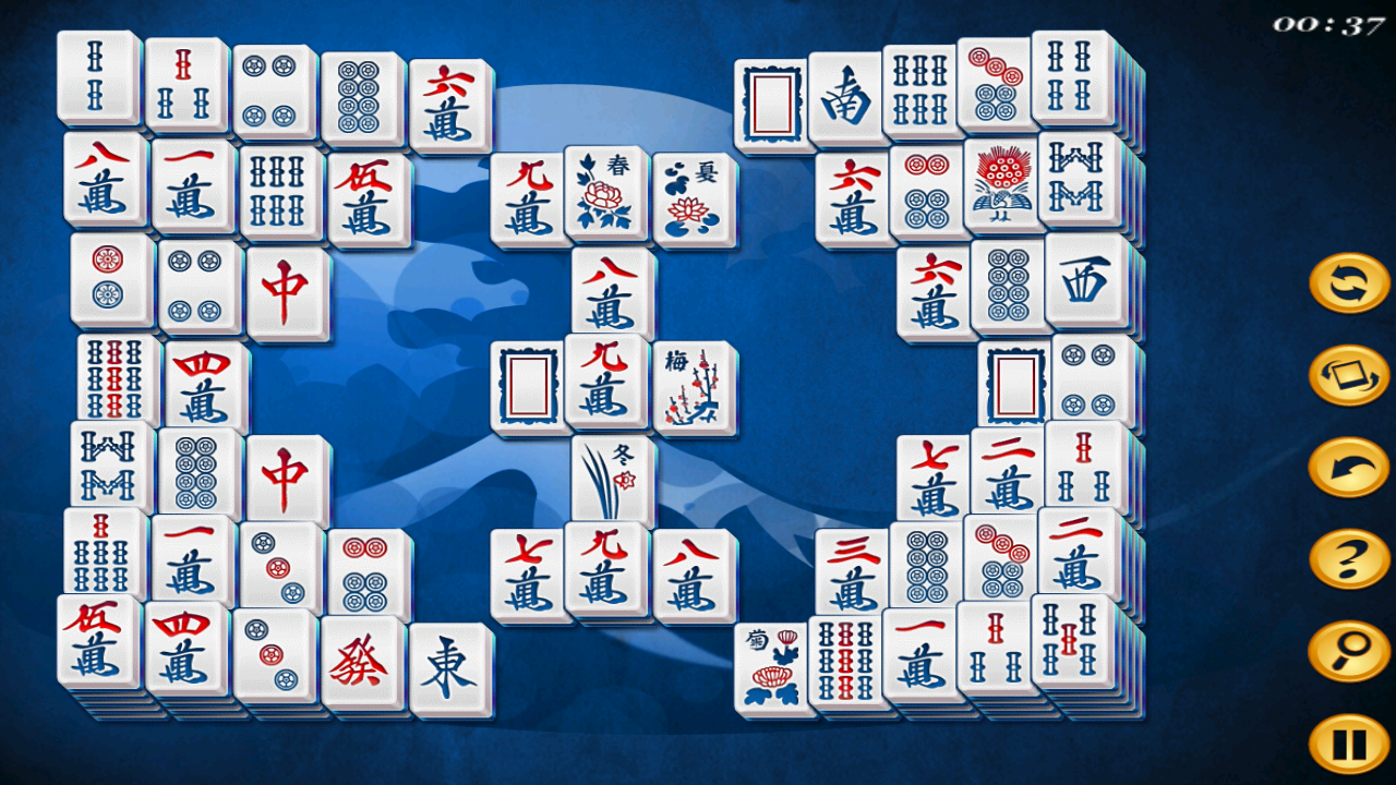 Mahjong Deluxe HD Free- screenshot