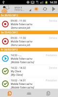 Screenshot of aidoo mobile >gps & job report