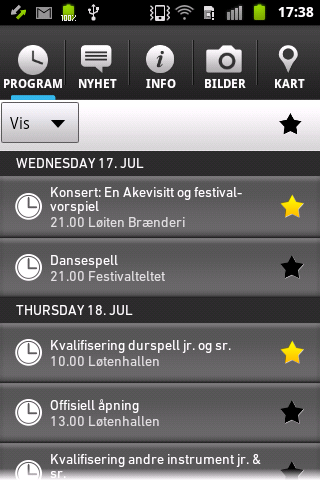 Landsfestivalen