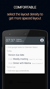 Calendar Status screenshot 2