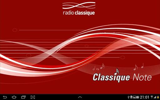 Radio Classique Note