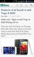 Screenshot of Soha News
