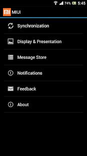 MIUI - screenshot thumbnail