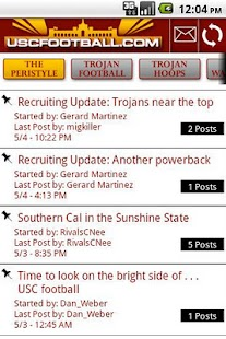USCFootball.com Mobile - screenshot thumbnail