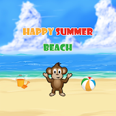 Happy Summer Beach