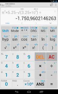 Expert Calculator Free- screenshot thumbnail