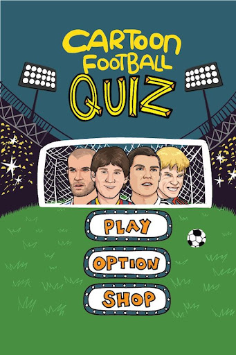 Cartoon Football Quiz UK