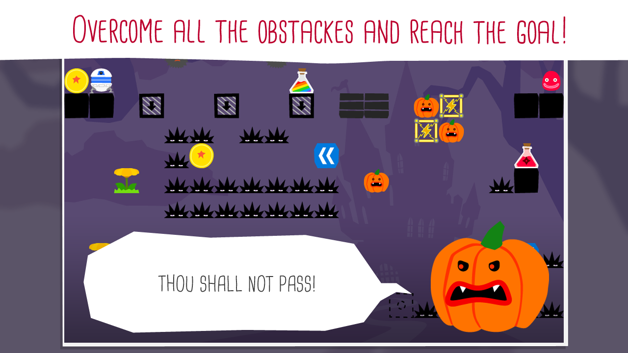 Bouncing Ball : Jelly King - screenshot