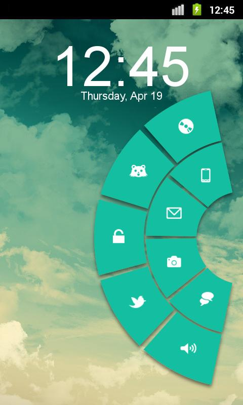 Pie Pro - MagicLockerTheme- screenshot