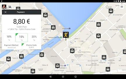 mytaxi – The Taxi App Screenshot 8