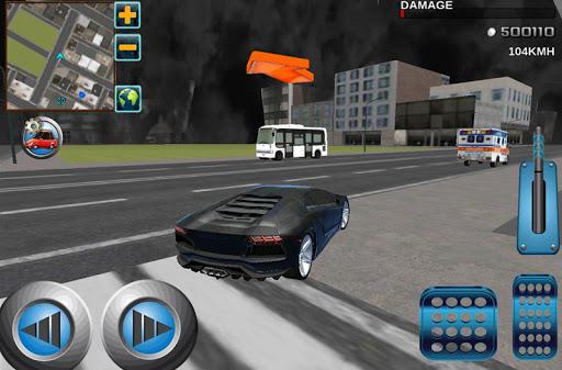 クレイジードライバの3D:VIP市タクシー