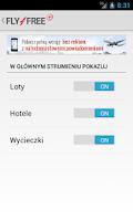 Screenshot of Fly4free+ Lite 1.0