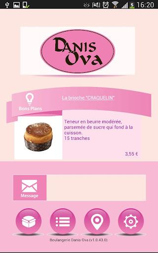 Boulangerie Danis Ova
