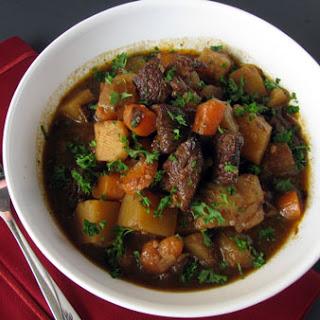 Irish Beef Stew.