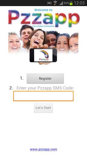 Pzzapp - あなたのグローバルな接続