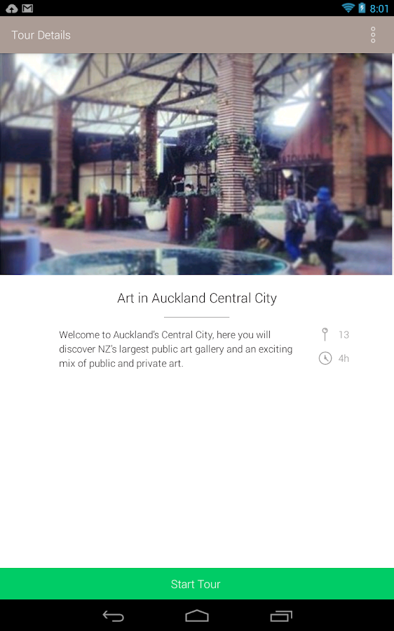 Art in Auckland- screenshot