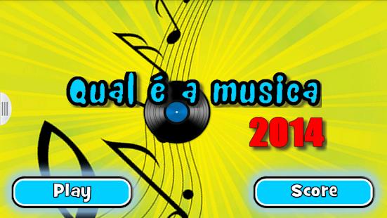 Qual é a música 2014