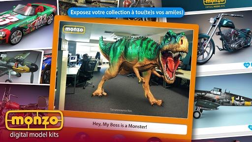 MONZO - Maquettes numériques  captures d'écran 4