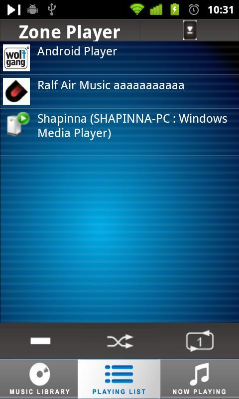 DK UPnP™/DLNA® Player- screenshot