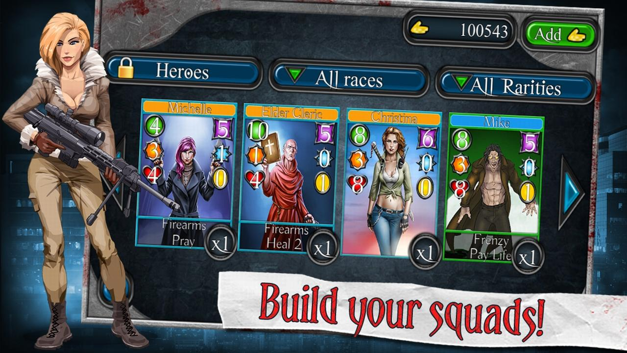 Bad Blood TCG - screenshot