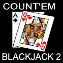 Count'em Blackjack 2 logo