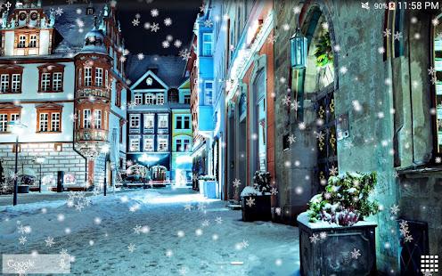 Snow Night Live Wallpaper HD 17