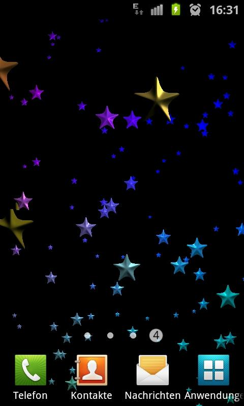 Stars 3D Free Live Wallpaper - screenshot