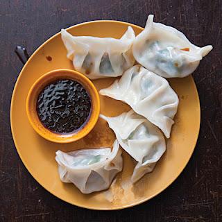 Shui Jiao (Pork and Chive Dumplings)