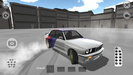 Retro Tuning Racing Car