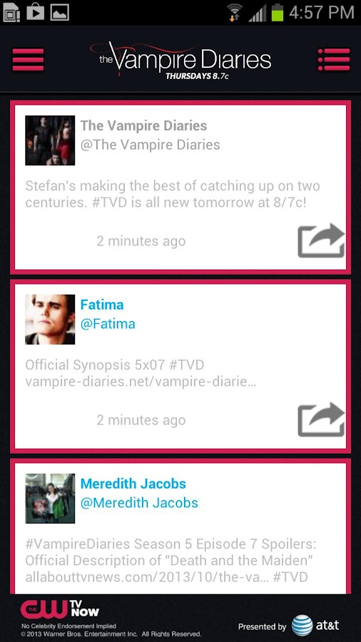 The Vampire Diaries - screenshot