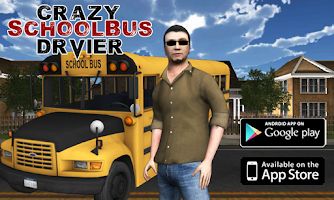 Screenshot of Crazy School Bus Driver 3D