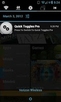 Screenshot of Quick Toggles Pro