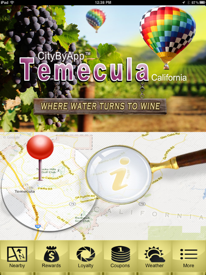 CityByApp® Temecula!- screenshot