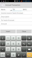 Screenshot of Account Manager