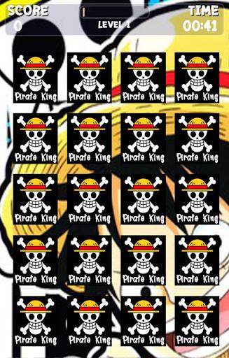 Memory Game Pirate King