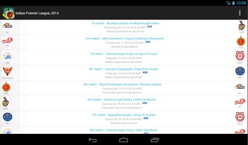 Live Cricket Scores & Schedule 1.6 screenshots 11