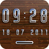 OSLO Digital Clock Widget