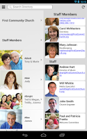 Screenshot of Instant Church Directory