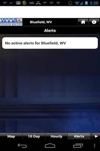 WVVA Weather - screenshot