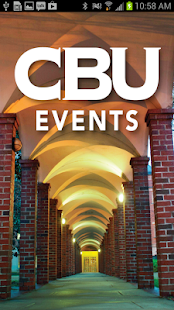 CBU Events- screenshot thumbnail