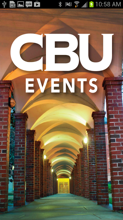 CBU Events- screenshot