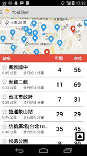 YouBiker - 台北市 YouBike 手機應用