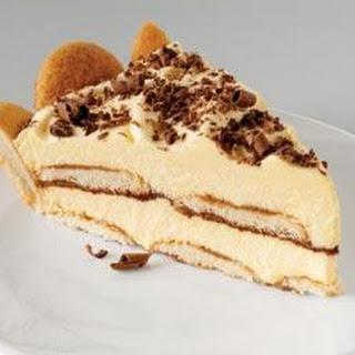Easy Tiramisu Pie.