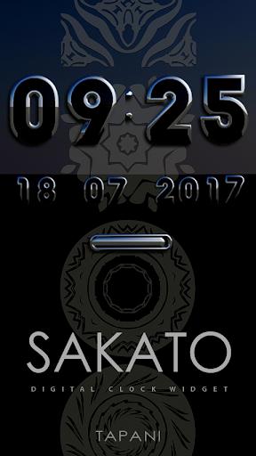Sakato DIGITAL ALARM WIDGET