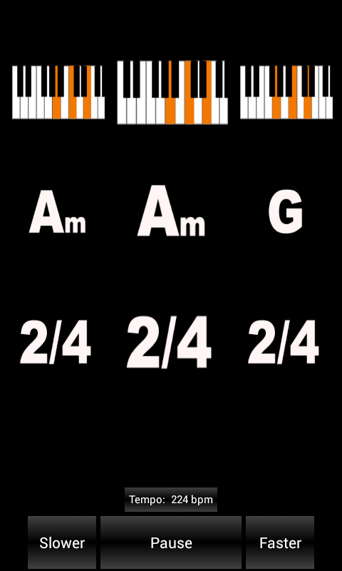 ChordGen - Chord Progression- screenshot
