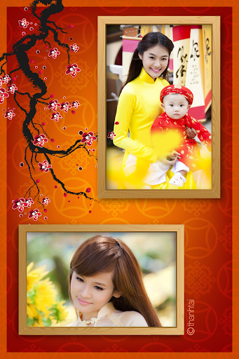 Lunar New Year Frames Collage