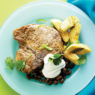 Spiced Pork with Plantains
