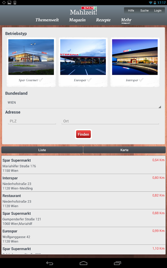 SPAR Mahlzeit!- screenshot